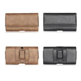 Iphone belt purses online shopping - Waist Bag Men Belt Fanny Pack Leather Purse Pouch Phone Pocket Holster Sleeve for iPhone Samsung Phones