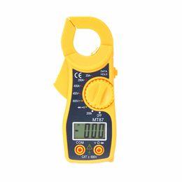 $enCountryForm.capitalKeyWord NZ - MT87 Digital Clamp Meter Multimeter DC AC Voltage Current Resistance Amp Ohm Tester Electronic Multimetre Tools