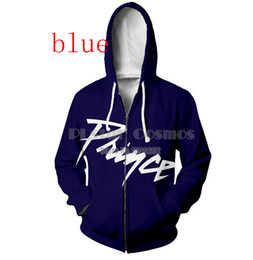 $enCountryForm.capitalKeyWord Canada - New Fashion 3D Printed prince Rogers Nelson Sport Sweatshirt Zipper Pocket Hoodies GH05