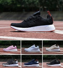 $enCountryForm.capitalKeyWord NZ - Cheap New R1 R2 Women Men Running Shoes Runner R2 Pk Primeknit Triple White Black Red Ultra Fashion Flat Sports Sneakers 36-45
