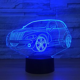 $enCountryForm.capitalKeyWord Canada - SUV Car 3D Optical Illusion Lamp Night Light DC 5V USB Powered AA Battery Wholesale Dropshipping Free Shippin