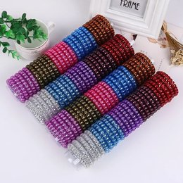 $enCountryForm.capitalKeyWord NZ - 5.5cm Hair Coil Metal Punk Telephone Wire Coil Gum Elastic Band Girls Hair Tie Rubber Pony Tail Holder Bracelet Stretchy Scrunchies