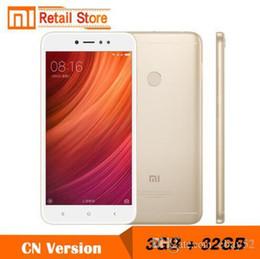 Original novo xiaomi redmi note 5a 5 a 64 gb 32g 16g 4 gb 2 gb ram telefone móvel snapdragon 435 octa core 16mp câmera frontal 5.5