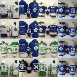 12c870f5b36ce2 Discount vans hoodie - Toronto Maple Leafs Hoodies Jersey 16 Mitchell  Marner 19 Joffrey Lupul 21