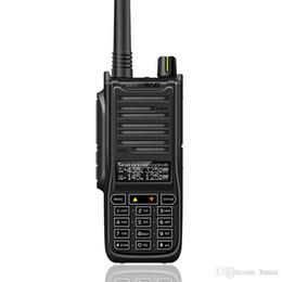 Dual Band Uhf Vhf Portable Australia - New Baofeng UVB2 Walkie Talkie High Power Portable Two Way Radio VHF UHF UV Dual Band BF-UVB2 UV-6RA PTT Transceiver Long Range