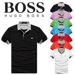 ad0f281050c9 Camiseta de lujo para hombre de primavera Camiseta de diseñador para hombre  Camisas de polo 2019 Nuevo bordado Estampado de tigre Ropa Marca de polo  para ...