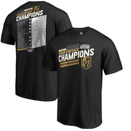 NHL Western Conference Champions Vegas Golden Knights T-Shirt Karlsson FLEURY NEAL Name und Nummer Tee