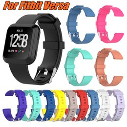 For Fitbit Versa Replacement Straps Soft Silicone Wrist Watch Band Wearable Belt Strap With 13 Colors