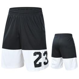 5d81ddb384 Pantalones cortos de baloncesto Active Trainer 100% poliéster Bermuda Gym  Sport Trunks Pantalones cortos de cintura relajados para hombres  Entrenamiento ...