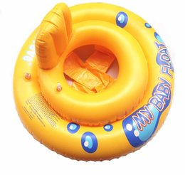 Toddlers Pool NZ - High quality Inflatable Baby Float Seat Boat Tube Ring Rubber Circle Swim Infant Toddler Swimming Pool Portable Accessories