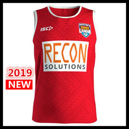 best rugby jerseys 2019 - Best Quality 2019 new TONGA NATIONL LEAGUE PACIFIC TEST Rugby Jerseys shirt Tonga Mens Players Training Singlet League j