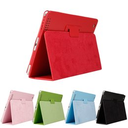 Ipad4 casIng online shopping - Full Body Protection Smart Wake up Sleep Case For iPad PU Leather Stand Cover For iPad2 iPad3 iPad4