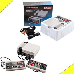 Newest TV Handheld Game Console Familycomputer Entertainment System Built-in 620 Classic Games For Nes Games PAL&NTSC with retail package from newest game system manufacturers