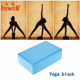 $enCountryForm.capitalKeyWord Canada - Hewolf Free Shipping Yoga Block Brick Foam Home Exercise Practice Fitness Gym Sport Tool High Quality Exercises Roller Fitness