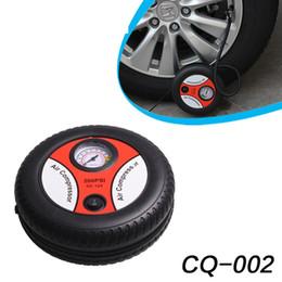 Araba pompası, 12V Elektrikli pompa, Hava basıncı göstergeli araba pompası, bisikletinizi ve topunuzu şişirebilirsiniz. indirimde