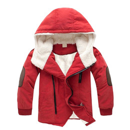 Discount jacket hat baby - cotton cloth baby clothes toddler boy kids jacket clothing long sleeve autumn hat winter jackets and coat wholesale 2018