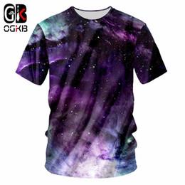 $enCountryForm.capitalKeyWord NZ - OGKB Summer 3d Colorful Galaxy Space T Shirt Printed T-shirt Men Funny Clothing Harajuku O Neck Tee Shirt Casual T Shirts 7XL