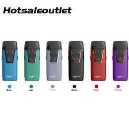 Vape building kit online shopping - 100 Original Aspire Nautilus AIO Starter Kit Built in mAh Battery Nautilus ohm BVC Coil E Cigarette POD Vape Kits