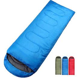 Открытый кемпинг спальный мешок для весны Осень взрослых детей конверт с капюшоном Хлопок сна сумка высокого качества