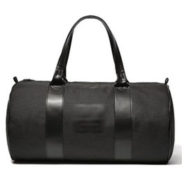 Chinese  Black Nylon Travelling Case Large The Single Shoulder Bag Cylinder Luggage Cases Satchel Yogo Sport Bags Men And Women 28yz gg manufacturers