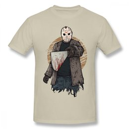friday 13th jason mask UK - Jason Mask Horror Friday The 13th T Shirt For Male Geek 3d Print Classic Movie Game T Shirt