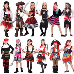 Kids Carnival Costumes Girls Canada - Accessories Cosplay Costumes Umorden Halloween Carnival Party Costume for Girl Girls Kids Children Pirate Costumes Fantasia Infantil Cosp...