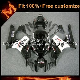 honda cbr fairings west NZ - 23colors+8Gifts Injection mold west black Bodywork motorcycle cowl For Honda CBR1000RR 2006-2007 CBR 1000 RR 06 07 motor cover ABS Fairing