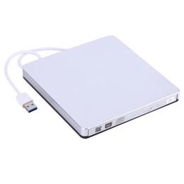 Freeshipping 24X externes USB 3.0 externes DVD / CD-RW Laufwerk Brenner-dünner beweglicher Fahrer für Netbook MacBook Laptop PC