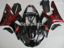 99 98 Yamaha R1 Fairing Red NZ - 7 gifts fairing kit for YAMAHA R1 1998 1999 red black fairings YZF R1 98 99 GF36