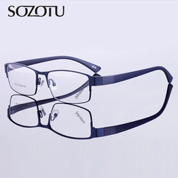 de5778ddd139 Korean eyeglasses frames online shopping - SOZOTU Eyeglasses Frame Men  Korean Computer Optical Myopia Nerd Glasses
