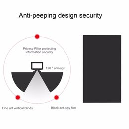 Laptop Filter Australia - laptop privacy film 12 inch Privacy Protecting Filter Anti-peeping Screens Protective Film for 16:9 Laptop Computer