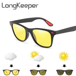 $enCountryForm.capitalKeyWord UK - Square Photochromic Sunglasses Men Polarized Driving Change Color Sun Glasses Safety Night Vision Goggles Glasses hombres UV400