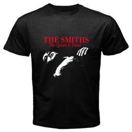 $enCountryForm.capitalKeyWord UK - THE SMITHS - The Queen is Dead Rock Legend Men's Black T-Shirt Size S to 3XL Men Clothing Plus Size T-Shirt Casual Man Tees
