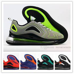 5398b5b3 Diseñador de moda para hombre 720 zapatillas de deporte de alta calidad de  malla de cojín 720 Kpu cómodas y transpirables con fondo plano con cordones  ...