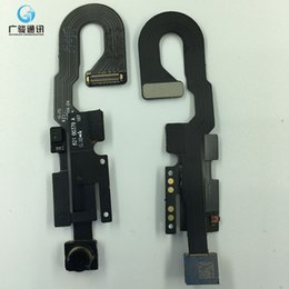 $enCountryForm.capitalKeyWord NZ - original new Front Facing Camera Module Proximity Light Sensor Flex Cable for iPhone 7 7G Replacement Parts Free Shipping