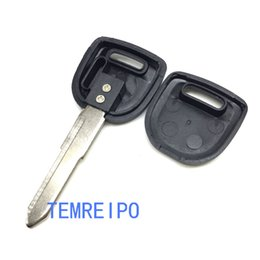 Keys Chip Shell Australia - replacement car key case for mazda transponder key shell chip key blank with right blade fob