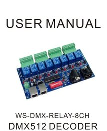 Dmx512 pc controller online shopping - best price CH Relay switch dmx512 Controller XLR RJ45 channel on off dmx512 decoder for led lamp bulb