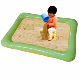 inflatable toys castle 2018 - Waterproof Soft Baby Indoor Inflatable Large Castle Beach Sandbox Toys Kids Baby Educational Toy Thicker Section Sand Be