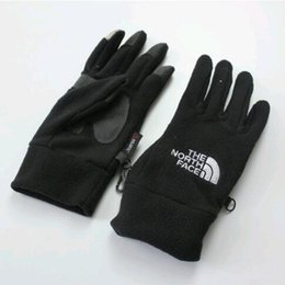 Touch fingers online shopping - HOT sale Outdoor Sports Bicycle Skiing Hiking Gloves Unisex Outdoor Winter Windproof Fleece Touch Screen Gloves