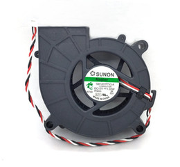blower for computer NZ - New Original SUNON GB1207PTV3-A F.GN DC12V 1.02W 70*25MM 3 Lines Tachometer Signal for Projector blower cooling fan