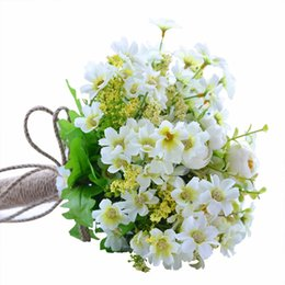 $enCountryForm.capitalKeyWord UK - 1 Bouquet Artificial Flowers Bridesmaid Wedding Foam Flowers Rose Bridal Bouquet Ribbon Fake Wedding Bouquet De Noiva Decor