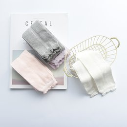 Discount bohemian leggings - Spring and Summer Knitting Baby Openwork Mesh Backing Stockings Fashion Candy Girls Leggings 0-6Years Girls Pants