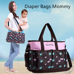 locked diapers UK - Diaper Bags Mommy Nappies Handbag 4 Colors Mother Maternity Outdoor Desinger Nursing Travel Bags Organizer Totes CNY633