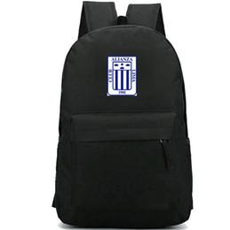 $enCountryForm.capitalKeyWord NZ - Alianza Lima backpack Alejandro Villanueva day pack Hot school bag Football club packsack Soccer rucksack Sport schoolbag Outdoor daypack