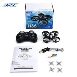 Micro Helicopter Toy Australia - Original JJRC H36 Mini Drone 6 Axis RC Micro Quadcopters With Headless Mode One Key Return Helicopter toy drone aircraft