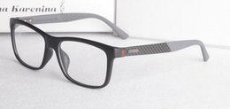 China New Product Carbon Fiber Mirror Leg Super Light Plate Man's Short Sighted Eyeglasses Frame Fashion Flat Glasses GG1045 suppliers