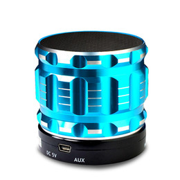 Building speaker Boxes online shopping - High Quality Portable Wireless Bluetooth Speaker S28 with Built in Mic TF Card Handsfree Mini Speaker with Retail Box