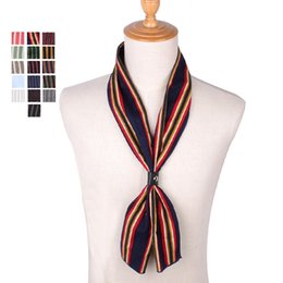 Scarf Square Cotton Australia - Spring Autumn Scarf Casual Cotton Mens Scarves Square Ladies Striped Hanky Wrap Fashion Women Pocket Square For Party