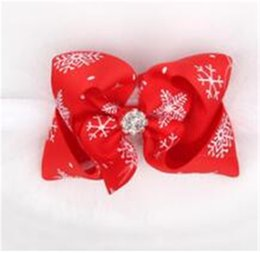 Corduroy Accessories UK - Baby Girls Christmas Baby Girls Christmas Headbands Bow Feather Boutique Children Hair Accessories Photo Props Headwear Kids Elastic Grosgra