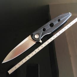 Venta al por mayor de Vigilante plegable Cuchillo plegable de alta calidad rodamiento de bolas Hoja de acero D2 G10 táctico cuchillos de bolsillo supervivencia exterior EDC Herramientas